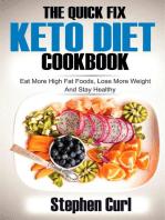 The Quick Fix Keto Diet Cookbook