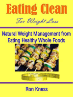 Eating Clean for Weight Loss