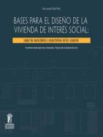 Bases para el diseño de la vivienda de interés social