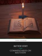 Commentaries on Matthew