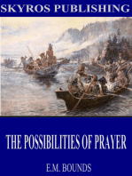 The Possibilities of Prayer
