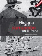 Historia de la corrupción en el Perú