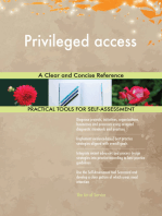 Privileged access A Clear and Concise Reference