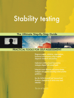 Stability testing The Ultimate Step-By-Step Guide