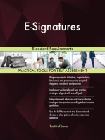 E-Signatures Standard Requirements