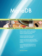 MariaDB Complete Self-Assessment Guide