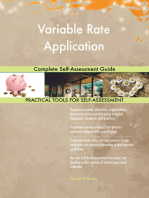 Variable Rate Application Complete Self-Assessment Guide
