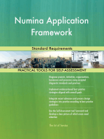 Numina Application Framework Standard Requirements