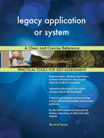 legacy application or system A Clear and Concise Reference