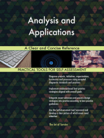 Analysis and Applications A Clear and Concise Reference