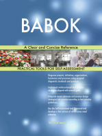 BABOK A Clear and Concise Reference