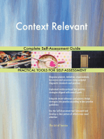 Context Relevant Complete Self-Assessment Guide