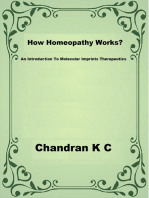 How Homeopathy Works?