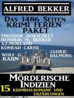 Das 1486 Seiten Krimi Ferien Paket – Mörderische Indizien