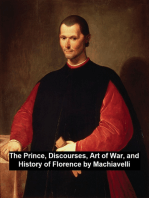 The Prince, Discourses, Art of War, and History of Florence