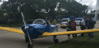 Small Plane Lands On South Lake Shore Drive In Traffic After Flying Under Foot Bridge; No One Injured