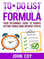 To Do List Simple Formula