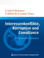 Interessenkonflikte, Korruption und Compliance im Gesundheitswesen