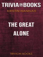 The Great Alone by Kristin Hannah (Trivia-On-Books)