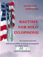 Ragtime For Solo Xylophone: 25 ragtime