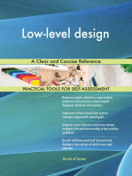 Low-level design A Clear and Concise Reference