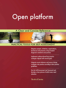 Open platform A Clear and Concise Reference