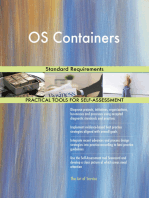 OS Containers Standard Requirements