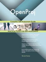 OpenProj Complete Self-Assessment Guide