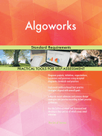 Algoworks Standard Requirements