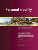 Personal mobility A Complete Guide