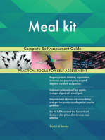 Meal kit Complete Self-Assessment Guide