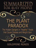 The Plant Paradox - Summarized for Busy People