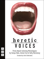 Heretic Voices (NHB Modern Plays)
