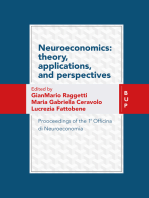 Neuroeconomics: theory, Applications, and Perspectives: Prooceedings of the 1a Officina di Neuroeconomia
