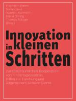 Innovation in kleinen Schritten