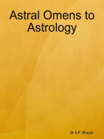 Astral Omens to Astrology