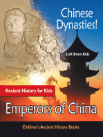 Chinese Dynasties! Ancient History for Kids