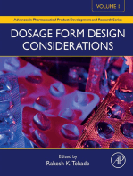 Dosage Form Design Considerations