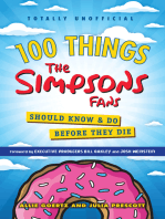 100 Things Simpsons Fans Should Know & Do Before They Die