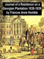 Journal of a Residence on a Georgian Plantation 1838-1839