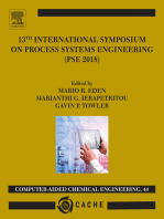 13th International Symposium on Process SystemsEngineering – PSE 2018, July 1-5 2018