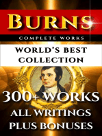 Robert Burns Complete Works – World's Best Collection