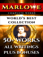 Christopher Marlowe Complete Works – World's Best Collection