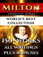 John Milton Complete Works – World's Best Collection