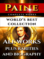 Thomas Paine Complete Works – World's Best Collection