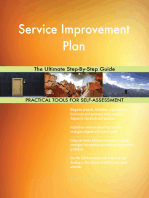 Service Improvement Plan The Ultimate Step-By-Step Guide