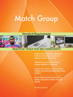 Match Group Standard Requirements