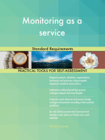 Monitoring as a service Standard Requirements