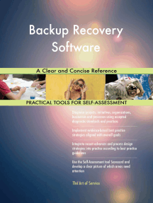 Backup Recovery Software A Clear and Concise Reference
