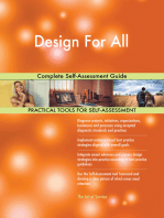 Design For All Complete Self-Assessment Guide